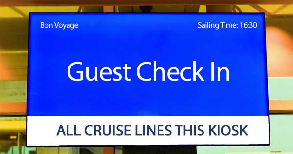 CRUISE LINE CHECK IN